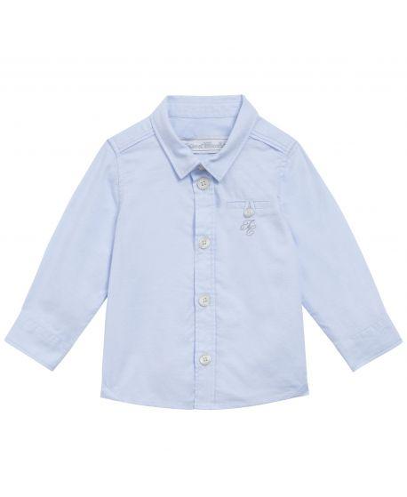 Camisa Bebe Niño Tartine et Chocolat Azul TC Bordado