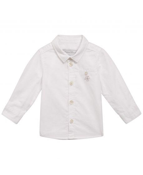 Camisa Bebe Niño Tartine et Chocolat Blanca TC Bordado