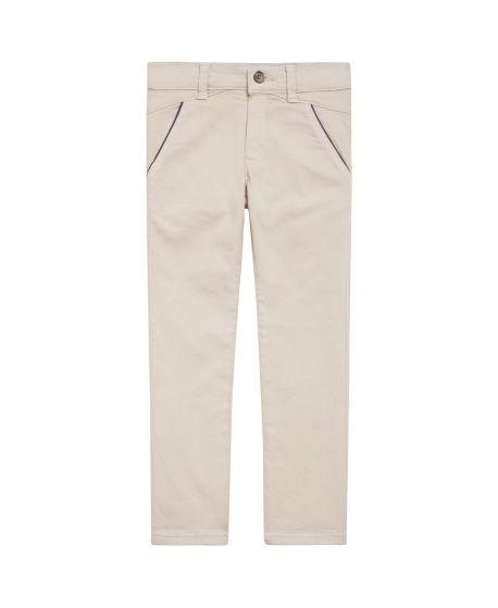 Pantalon Largo Niño Tartine et Chocolat Beige