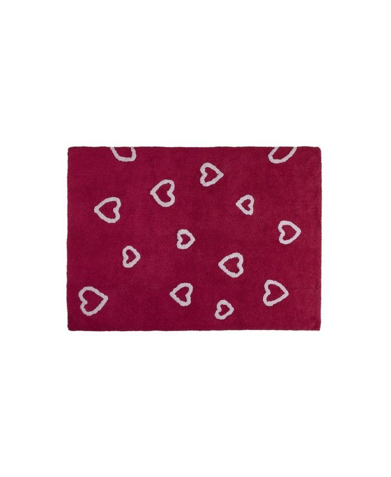 Alfombra lavable corazones lorena canals ro infantil - Lorena canals alfombras ...