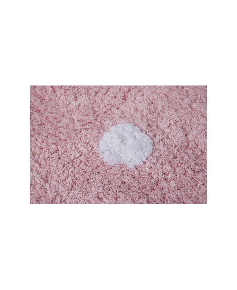 Alfombra galleta rosa lorena canals ro infantil - Lorena canals alfombras ...