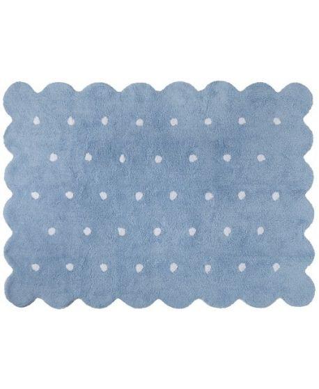 Alfombra galleta azul lorena canals ro infantil - Lorena canals alfombras ...