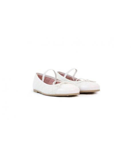 Pretty Ballerinas Shade Blanco Con Goma