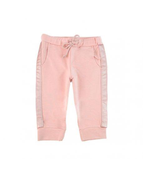 Pantalon Niña Microbe Rosa Cordón