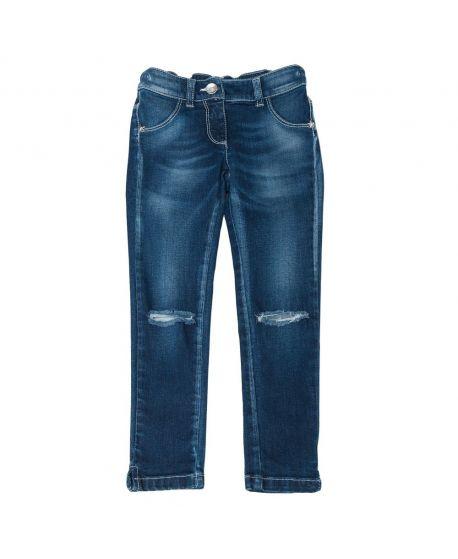 Pantalon Vaquero Niña L:U L:U Roto Rodillas