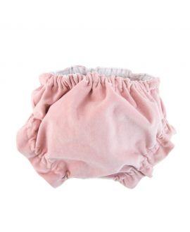 Braguita Bebe Ro Infantil Velveton Rosa