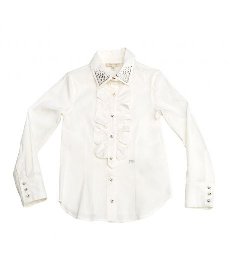 Camisa Miss Grant Blanca Piedras (7-14A)