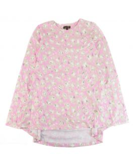 Camiseta Niña Roberto Cavalli Estampado Rosa
