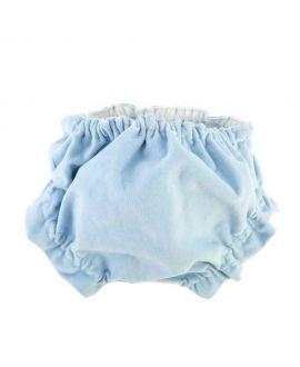 Braguita Bebe Ro Infantil Velveton Azul