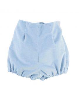 Ranita Bebe Ro Infantil Velveton Azul Claro