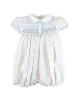 Ranita Bebe Ro Infantil Brillantina Azul