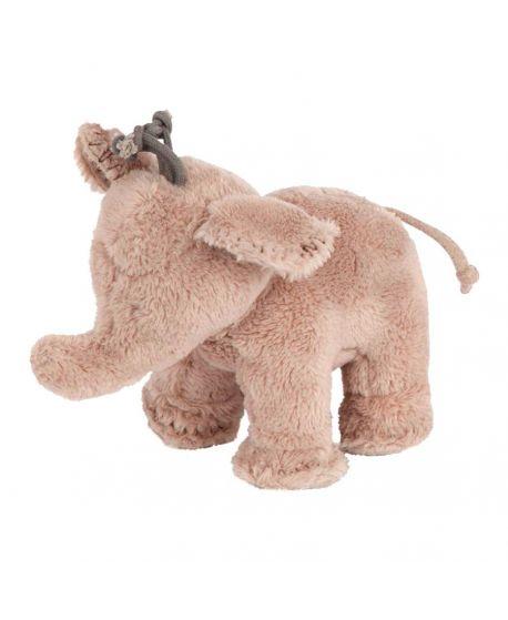 Peluche Tartine et Chocolat Ferdinand, l'Elephant Marrón (12cm)