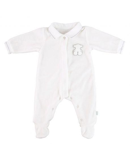 Pijama Bebe Baby Tous Blanco