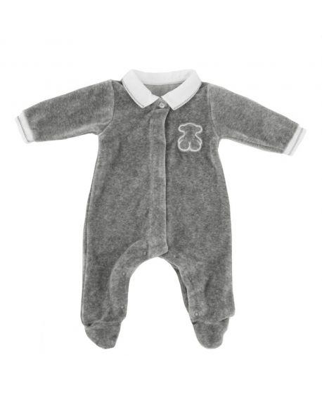 Pijama Bebe Baby Tous Gris