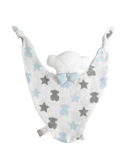 Doudou Estrellas Y Osos Baby Tous Azul