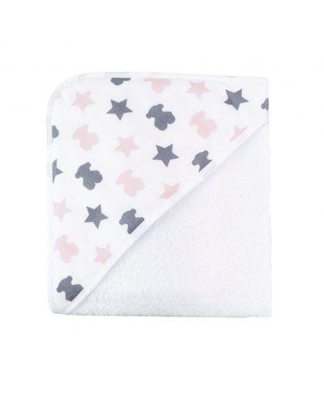 Capa de Baño Baby Tous Osos Y Estrellas Rosa