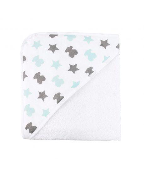 Capa de Baño Baby Tous Osos Y Estrellas Azul