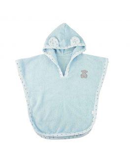 Capa de Baño Baby Tous Azul Orejas