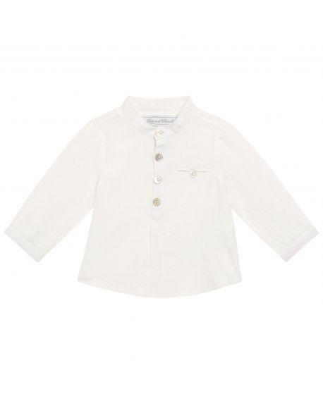 Camisa Bebe Niño Tartine et Chocolat Blanca