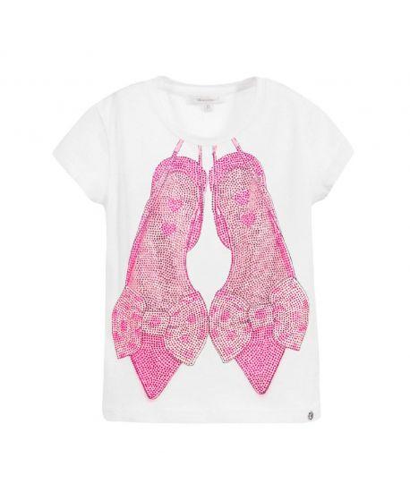 Camiseta Niña Miss Grant Zapatos Rosas