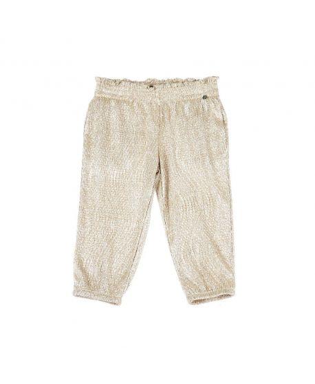 Pantalon Bebe Niña Microbe Oro (18M-7A)