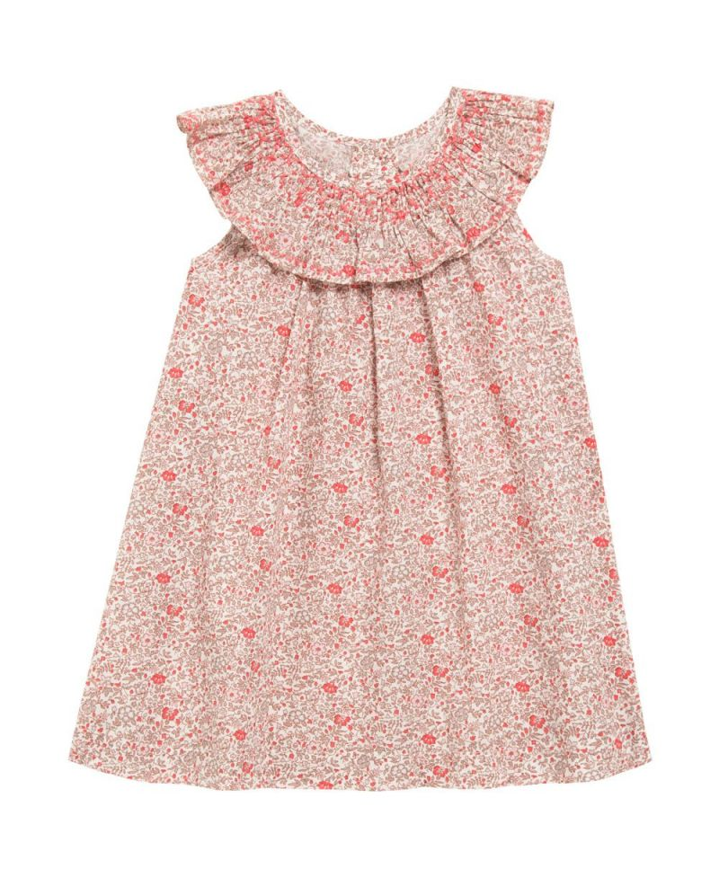 outlet(mk) elige el más nuevo diseño moderno Vestido Bebe Niña Tartine et Chocolat Liberty Rosa - Ro Infantil
