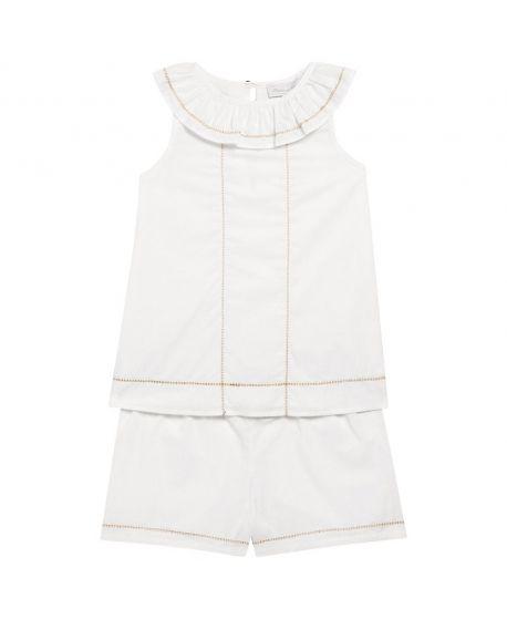 Pijama Niña Tartine et Chocolat Blanco Detalles Dorados