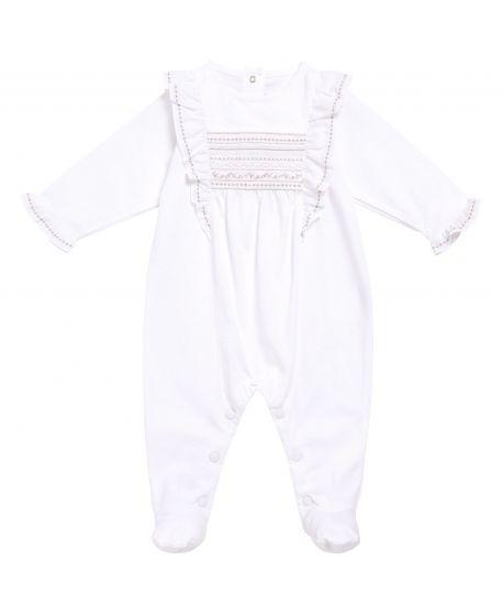 Pijama Bebe Niña Tartine et Chocolat Blanco Detalles Dorados