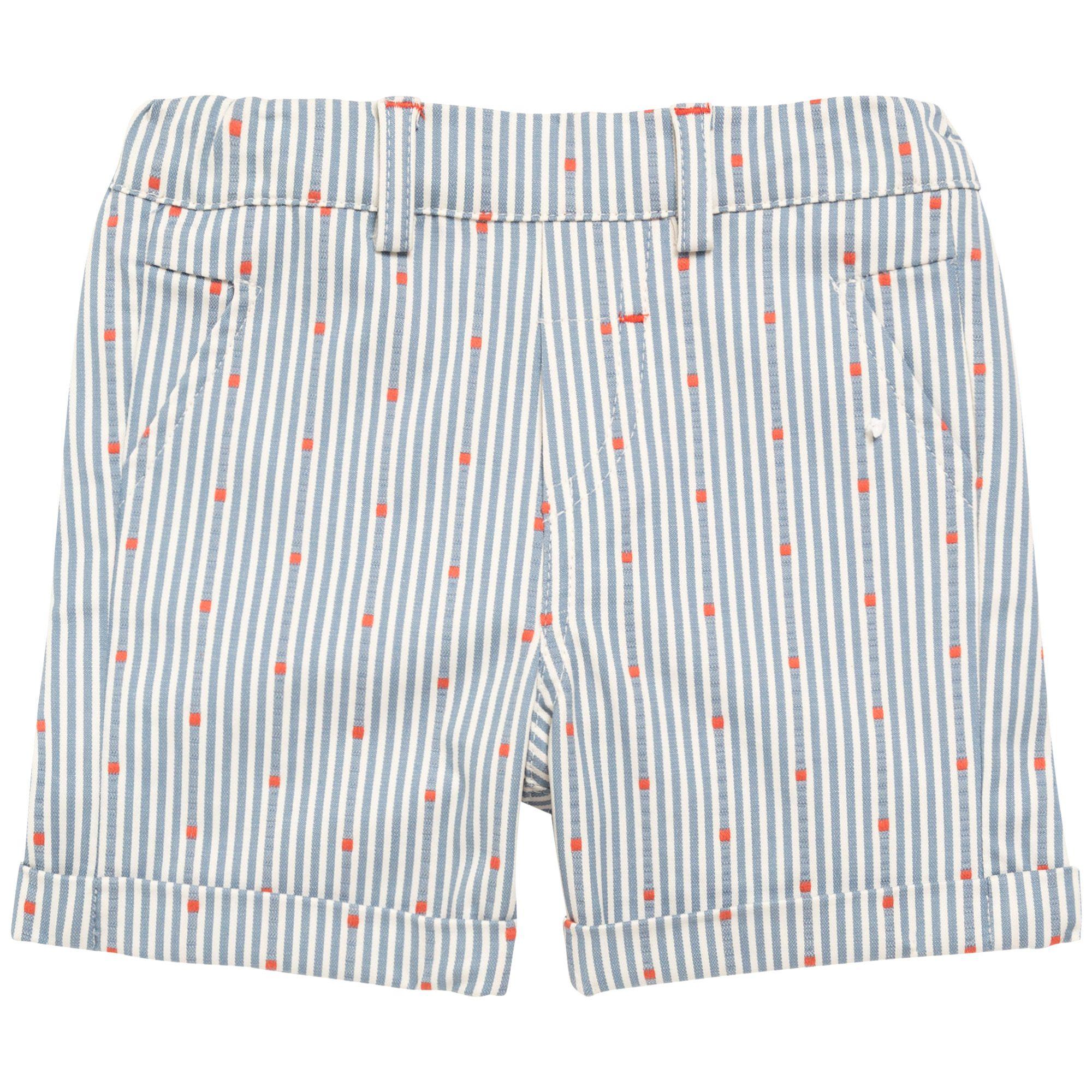 Bebe Corto Detalles Naranja Rayas Ro Infantil Niño Pantalon L5RjA4