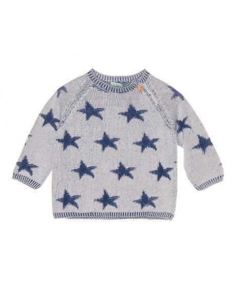 Jersey Bebe Niño Nanos Estrellas Azules