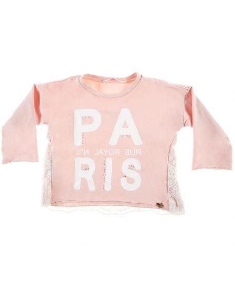 Camiseta Niña L:U L:U Rosa Paris
