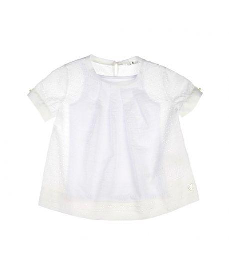 Bluson Niña L:U L:U Perforado Blanco