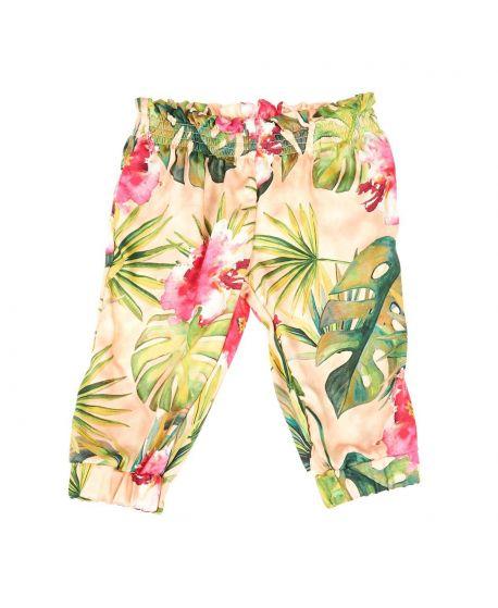 Pantalon Niña Microbe Floral