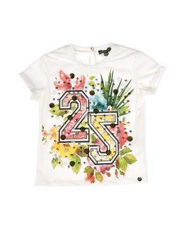 Camiseta Niña Microbe 22 Floral