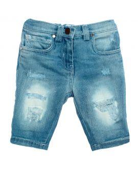 Pantalon Vaquero Niña So Twee Microbe Rotos (3-7A)