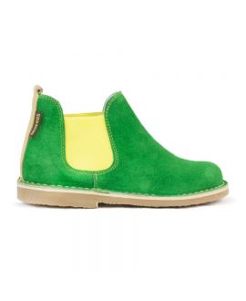 Botas Neon Boots Niño Elástico Amarillo