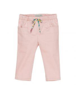 Pantalon Loneta Rosa Nanos Bebe Niña