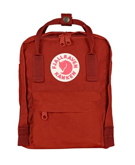 Mochila Fjallraven Kanken Mini Deep Red