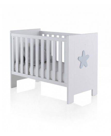 Cuna Bebé Estrella Basic 60x120