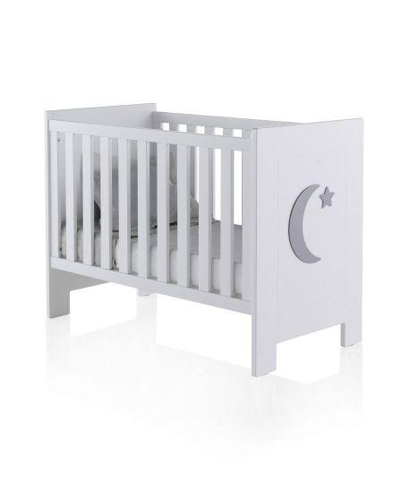 Cuna Bebé Luna Basic 60x120