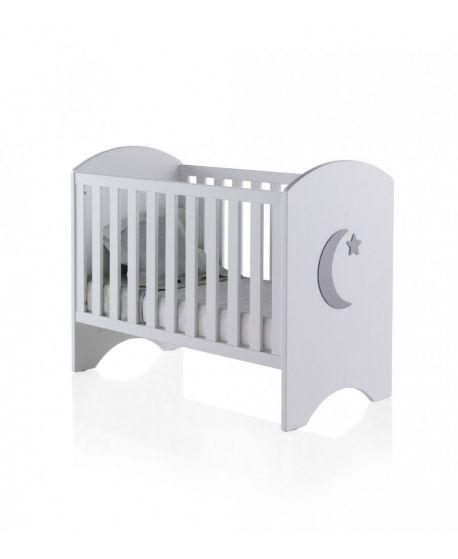 Cuna Bebé Arco Luna 60x120
