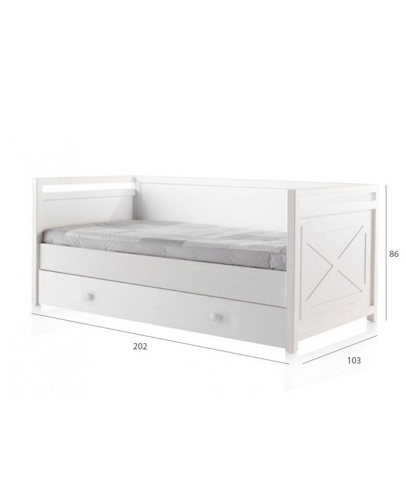 Cama nido cls aspas respaldo ro infantil - Fabricar cama nido ...