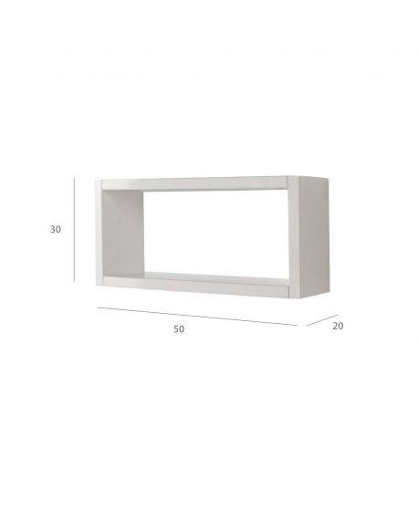 Estanteria Cubo Blanca 50 CM