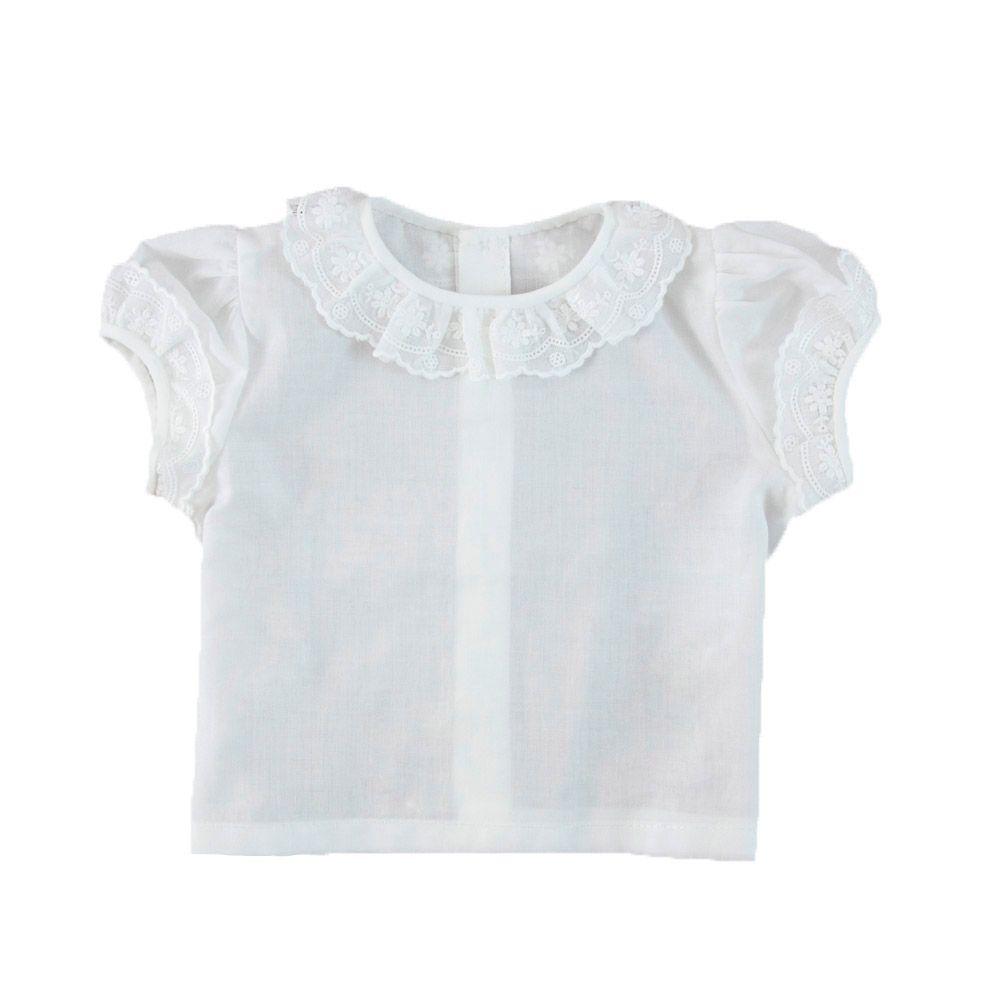 Camiseta batista blanca