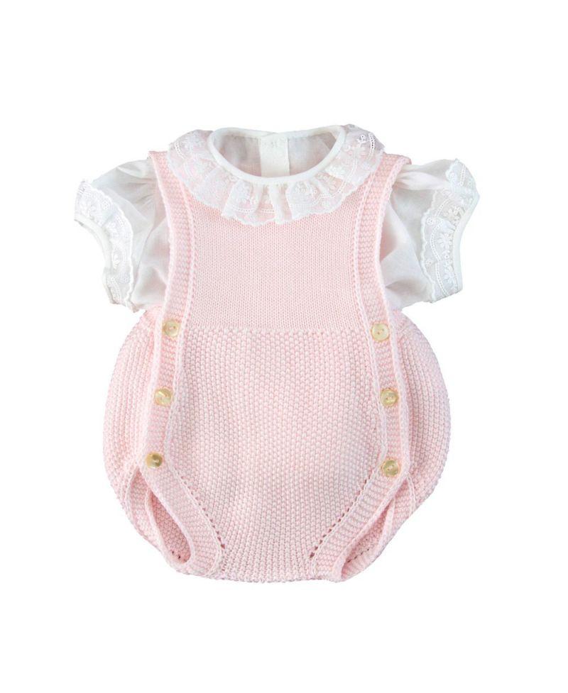 aeaecdf27 Camisa Bebe Niña Ro Infantil Batista Blanca - Ro Infantil