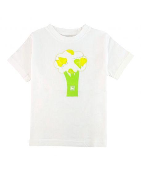 Camiseta Niño Al Agua Patos Verde Peras