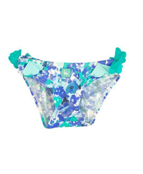 Culetin Niña Al Agua Patos Azul