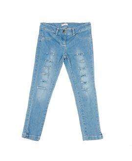 Pantalon Vaquero Niña Miss Grant Rotos