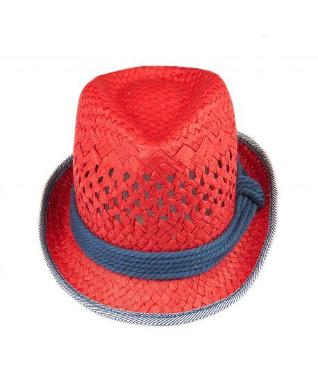 Sombrero Niña L:U L:U Rojo
