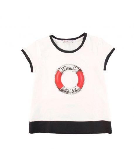 Camiseta Bebe Niña Moncler Salvavidas